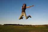happy jump poster