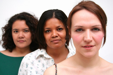 women and race diversity