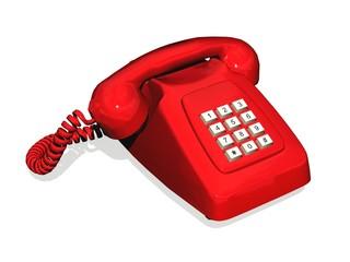red phone - téléphone rouge