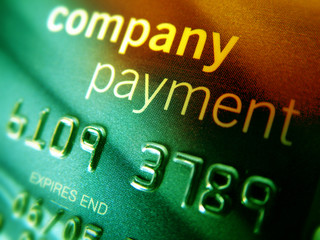 company credit card
