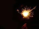 sparkler firework poster