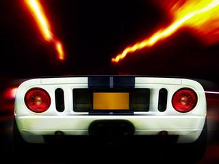 racing car rear