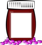 pill bottle poster