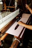 thailand, chiang mai: loom poster