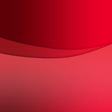 red curve poster