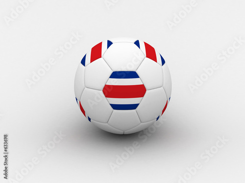 costarica soccer ball