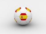 spain soccer ball poster
