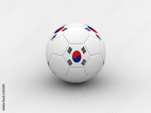 korea soccer ball
