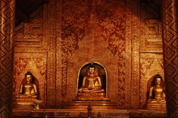 thailand, chiang mai: wat phra singh temple