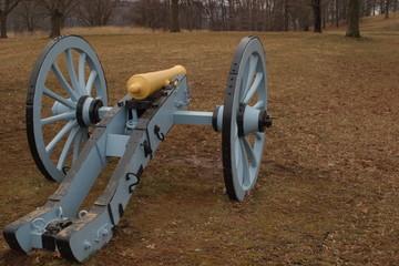 artillery park cannon