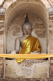 thailand, chiang mai: wat jedyod temple poster