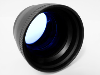 telephoto adapter blue tint