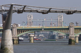 london bridges poster