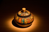 peruvian pottery poster