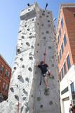 rock climbing 3 poster