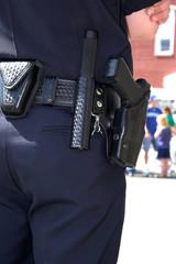 policeman closeup
