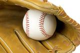 baseball glove poster