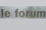le forum poster