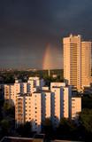 urban rainbow poster