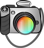 digital slr camera poster