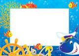 photo frame 010 poster