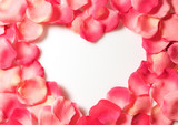 petal-heart poster