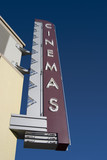 movie theater sign poster