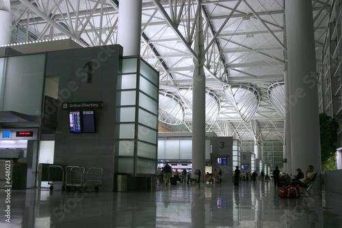 Fotobehang Luchthaven night airport 2