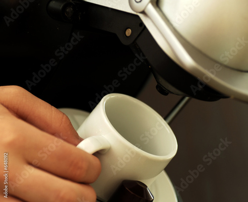 poster of expresso coffee machine