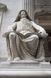 wisdom statue poster
