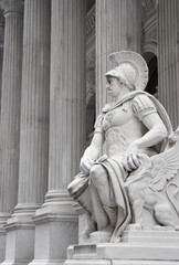 neoclassical statue