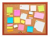 colorful cork board poster