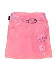 pink children girl short skirt isolated poster