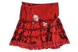 red children girl skirt isolated poster