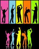 colourful dancers poster