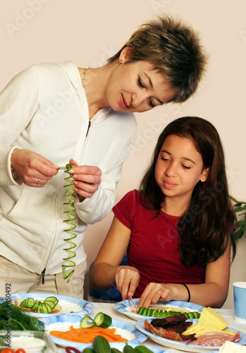 poster of cooking with mom
