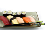 sushi plate poster