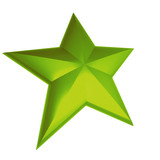 green star poster