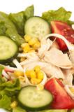 chicken salads poster