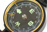 modern compass poster