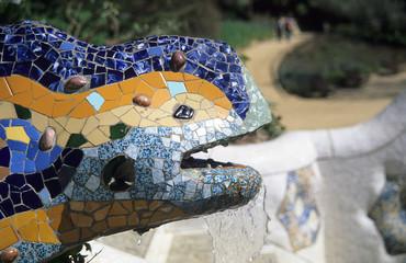 gaudi's lizard fountain