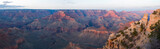 grand canyon np panorama at sunset poster