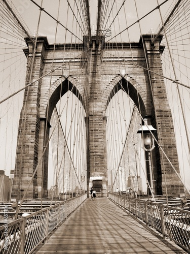 the brooklyn bridge - 657816