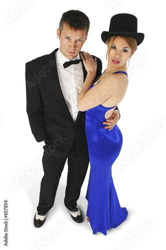 formal couple