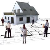 maison et plan staff poster
