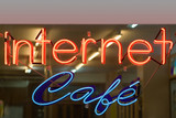 your internet cafe! poster