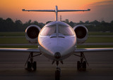 corporate jet  1 poster