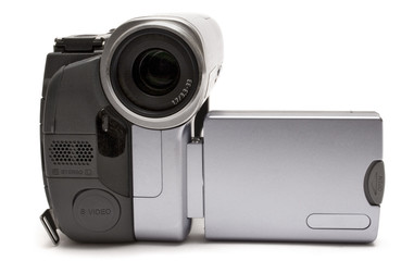 digital camcorder (front view)