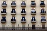 balconies in seville poster
