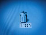 trash rubbish bin poster